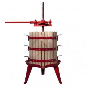 Torchio a Leva Polsinelli Diametro 50 cm Capacità 125 Litri per Vino Vinacce