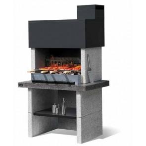 Barbecue in Muratura Carbonella e Legno BBQ SUNDAY TORONTO  CRYSTAL