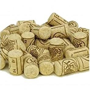Tappi in sughero per vino naturali 24X38 mm confezione 100 pezzi FERRARI