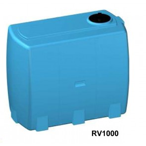 Serbatoio da esterno polietilene stoccaggio acqua VALIGIA Rototec litri 500