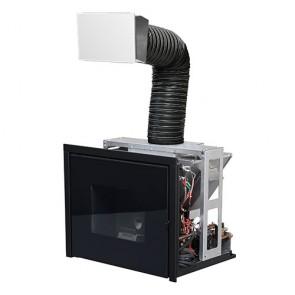 Termocamino Inserto a Pellet IDRO MCZ VIVO 80 Pellet Hydro 16,9kW