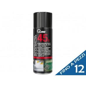 Spray Impermeabilizzante Idro Oleo Repellente VMD 45S 400ml tessuti-tende-scarpe-coperture idrorepellente
