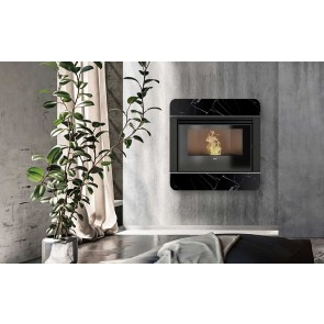 Inserto a Pellet ad Aria Canalizzata KLOVER WAVE 110 MULTI-AIR Gres 10,1kW 270m³