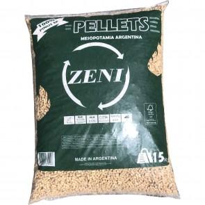 Pellet per Stufe ZENI in sacchi da 15kg  - pedana da 80 sacchi