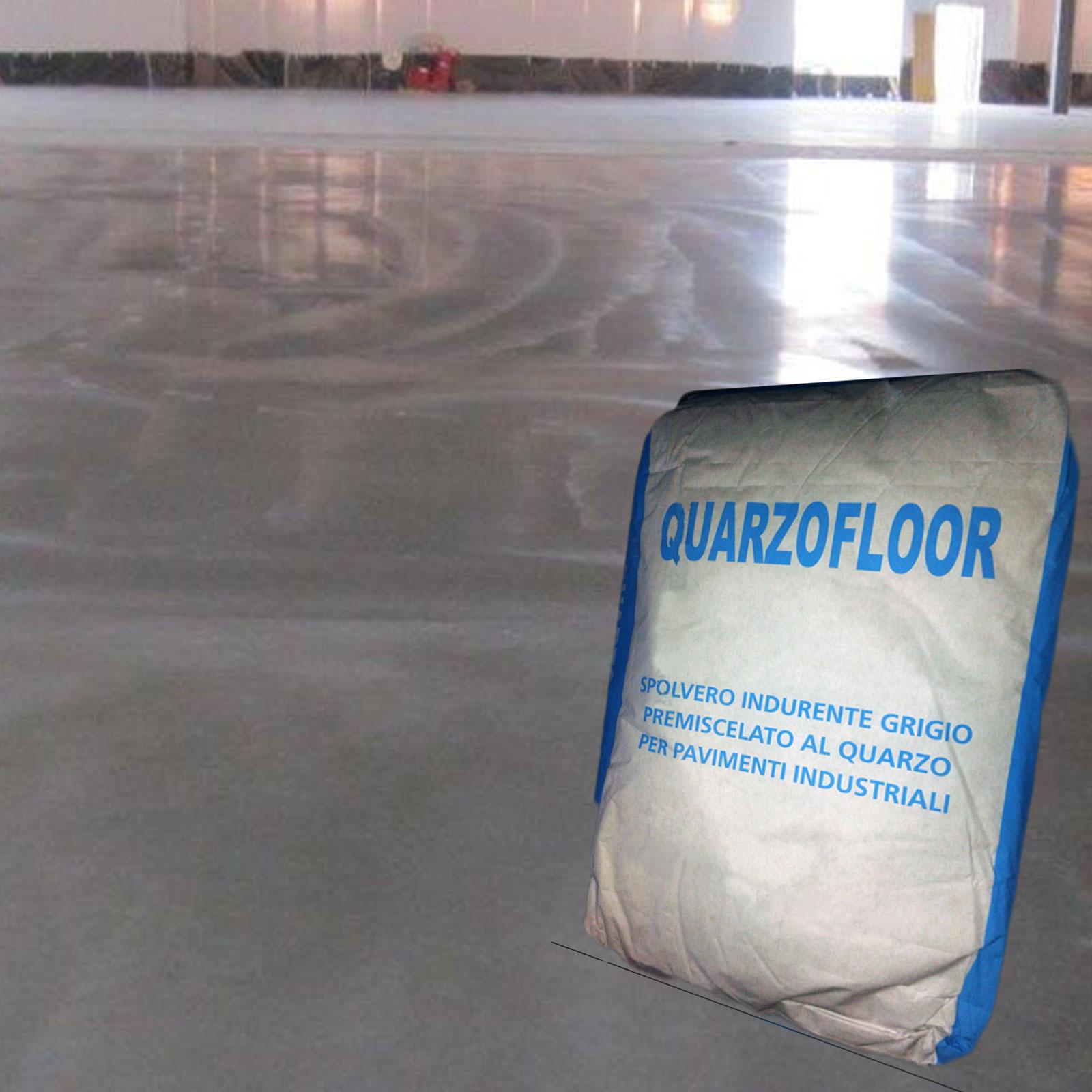 Cemento Premiscelato Per Top Cucina quarzo per pavimenti industriali liscio kg25 quarzofloor